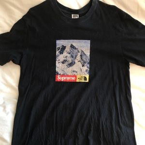Supreme The North Face Mountain Tee